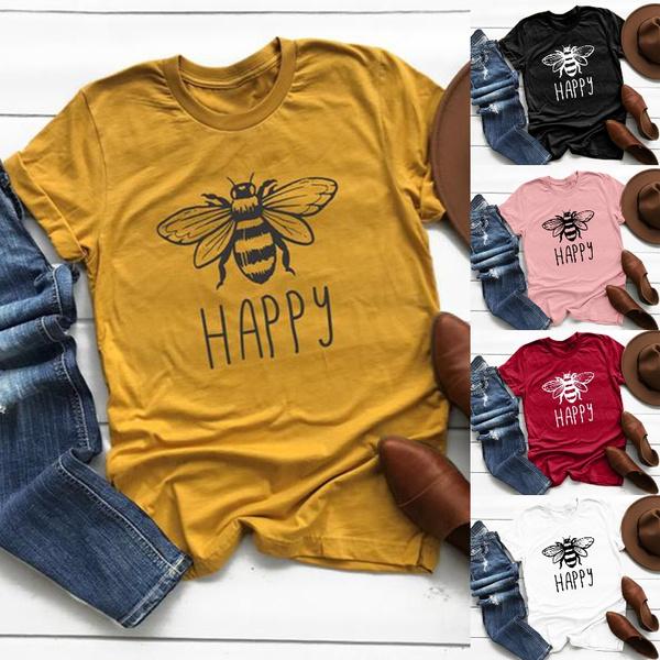 blouse, Shorts, Shirt, Printed Tee