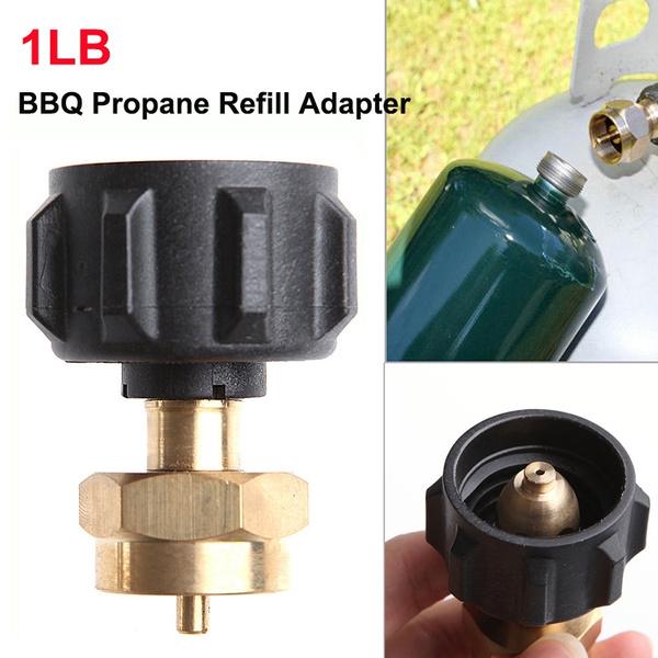 Propane Refill Adapter Lp Gas Cylinder Tank Coupler Outdoor Heater Camping Hunt