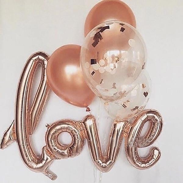 party, Decor, foilballoon, aluminumfoilballon