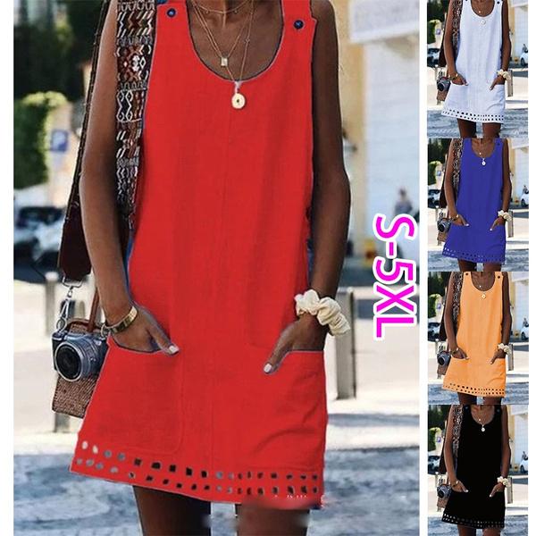Summer, Plus Size, short dress, Dress