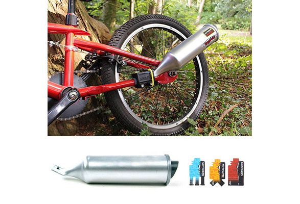 Cool Bicycle Turbo Spoke Pipe Exhaust System Motorcycle Sounds Bike Engine New