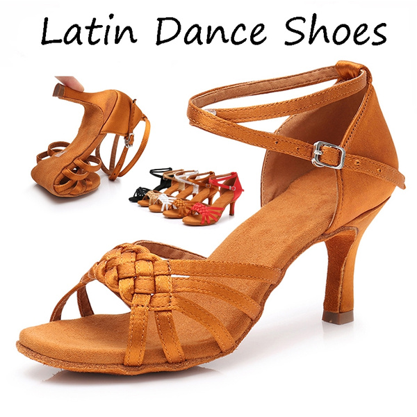 clearance sale official images wholesale price New Women's Latin Dance Shoes Ballroom Tango Ladies Girls ...