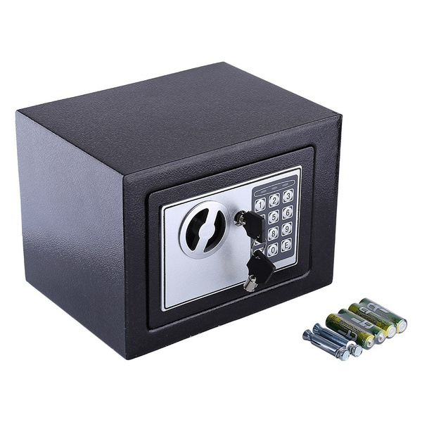 Magnificent 6 4L Digital Security Lock Safe Storage Box To Guard Money Cash Coins Jewelry Key Cash 17E Wiring Cloud Usnesfoxcilixyz