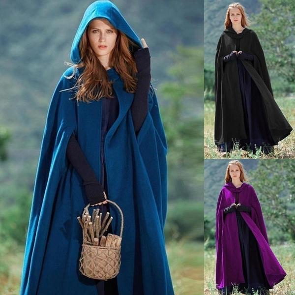Fashion, Medieval, Long Coat, Vintage