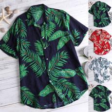 printedtop, Holiday, Cotton, beachshirt