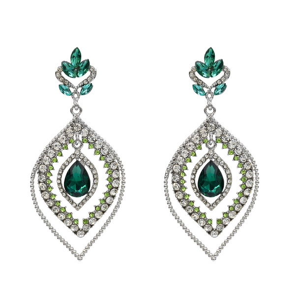 charmearring, Fashion, Jewelry, waterdropletsshape