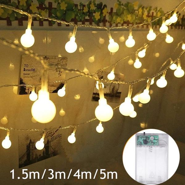 Round Ball Bulb Lamp Fairy String
