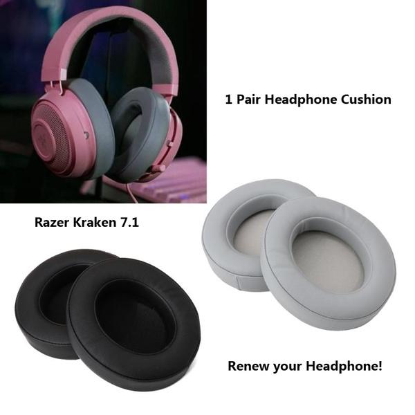 Replace Eapads Earmuffs Cushion for Razer Electra Gaming Headphone Headset 1Pair