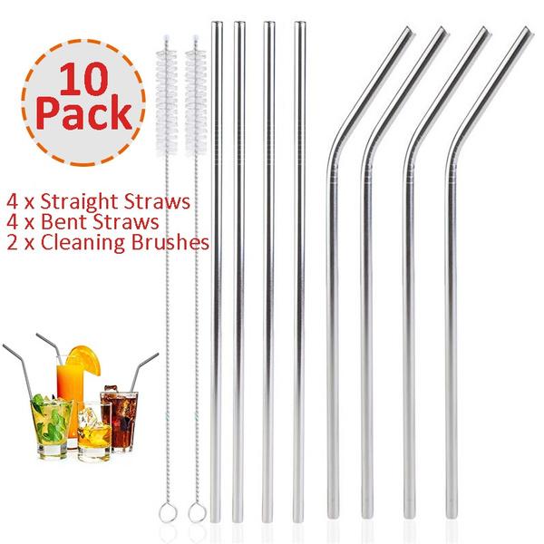 strawscleanerbrush, stainlesssteelstraw, drinkingstraw, juicestraw