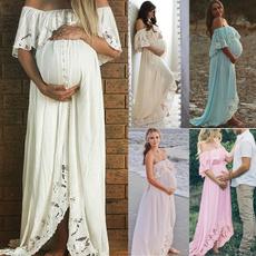 Maternity Dresses, Summer, Plus Size, Lace