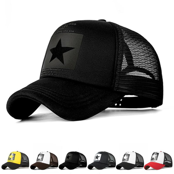 Unisex Strapback Cap Adjustable Style Sun Hats