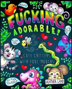curebook, cute, paperback, swearword