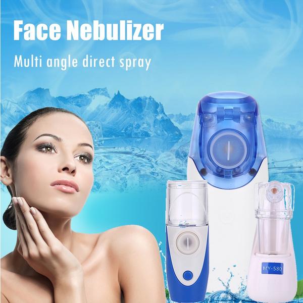 Handheld Micro Mesh Ultrasonic Atomizer Face Nebulizer Mist Asthma