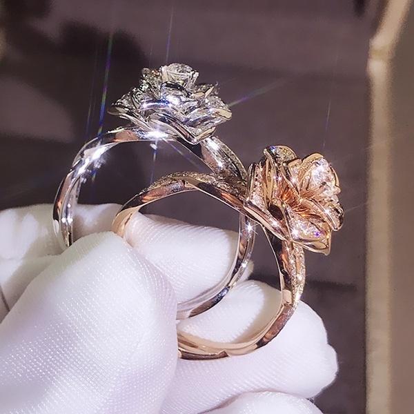 DIAMOND, Jewelry, Gifts, Rose