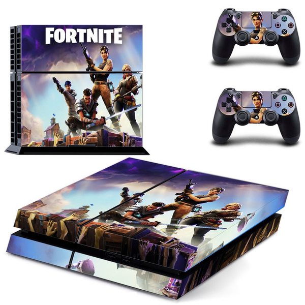 Ps4 Skin Fashion Video Game Decal Wrap Playstation 4 Protective Film From Scratch Vinyl Skin Cover Ps4 Sticker Case