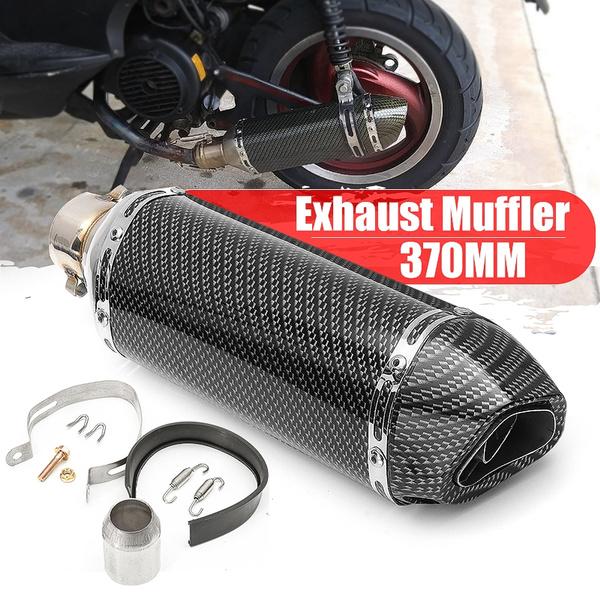 Universal Exhaust Muffler Pipe Silencer  Dirt Bike Street Bike Motorcycle Quad