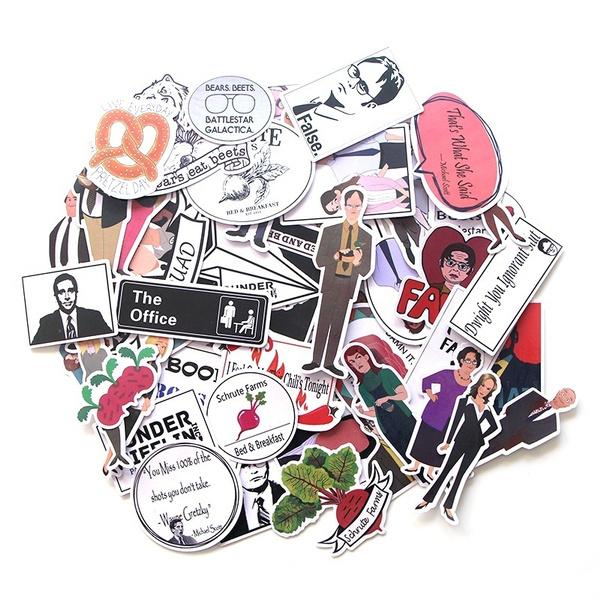 Stickers, luggagesticker, Office, Waterproof