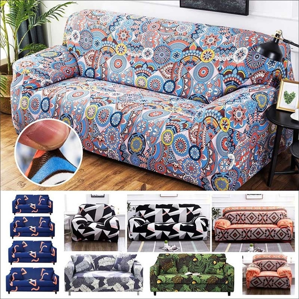 Sofa Protector Cover 1/2/3/4 Seats,Durable Soft High Stretch Sofa Slipcover  7 Colors Couch Covers Furniture Protector Machine Washable