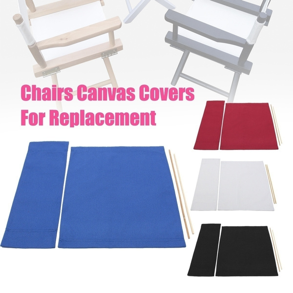 Super Multicolor Casual Directors Chair Replacement Canvas Seat And Back Covers Kit Creativecarmelina Interior Chair Design Creativecarmelinacom