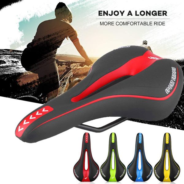 New Mountain Bike Seat Bicycle Cycling Comfort Cushion Riding Pro Road Saddle