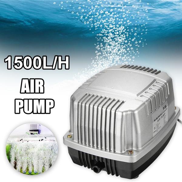EU Plug Powerful Increase Oxygen Aerator Aquarium Air Pump Fish Tank Supply