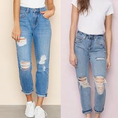 Slim Fit, calçajean, Women jeans, Denim