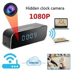 spycameraclock, wirelessipcamera, Mini, Home & Living