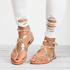 Chaussures, Summer, Sandals, Flats