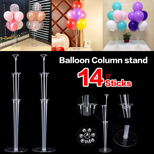Balloon sticks and holders  for Birthday Party decoration party Pack