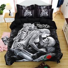 King, Moda, bedclothe, blackbedding