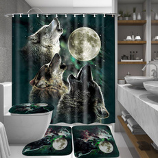 decoration, Bathroom, wolfdecoration, nonslipmat