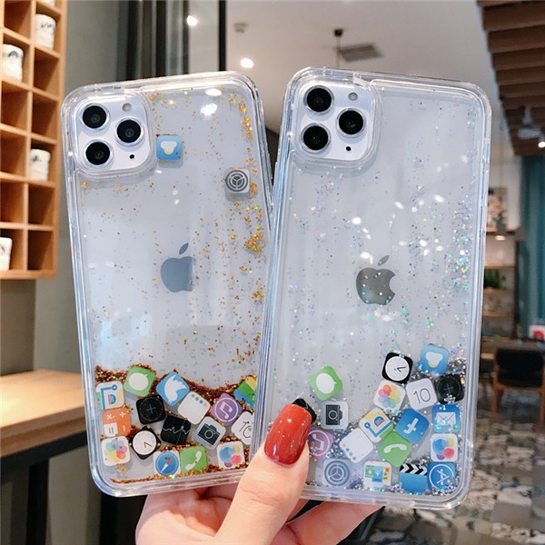 Glitter Sparkle Transparent Case