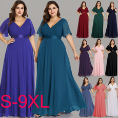 glamorous, Plus Size, plus size dress, chiffon