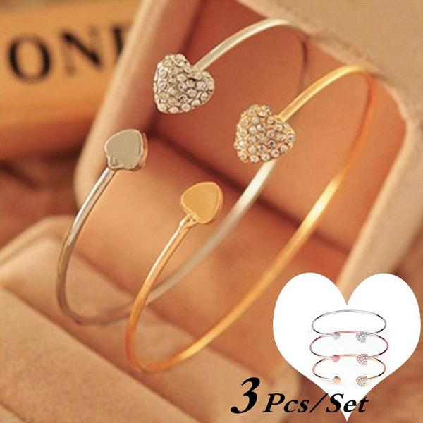 Charm Bracelet, womenfashionbractlet, Love, Jewelry