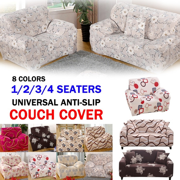 Excellent 1 2 3 4 Seaters Universal Sofa Cover Anti Slip Printing Couch Cover High Elasticity Tight Package All Inclusive Soft Sofa Slipcover Short Links Chair Design For Home Short Linksinfo
