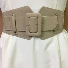 Women, Fashion Accessory, Leather belt, Buckle-Belt