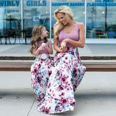 momanddaughterdres, Summer, Family, long dress