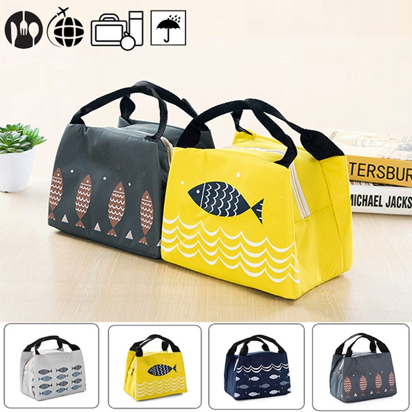 0bac694486a8 New Arrival Cute Cartoon Printed Waterproof Portable Thermal Insulated  Lunch Box Lunch Bag Tote Cooler Bag Bento Pouch Lunch Container School Food  ...