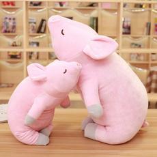 pink, cute, dollpillowpig, pinkpigpillow