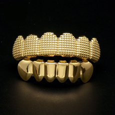Cubic Zirconia, goldteeth, Fashion, Tops