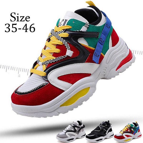 2019 New Sports Shoes Ins Hot Men's Fashion Shoes Color Matching