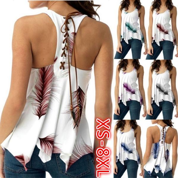 Women Vest, Womens Blouse, chiffon, Women Blouse