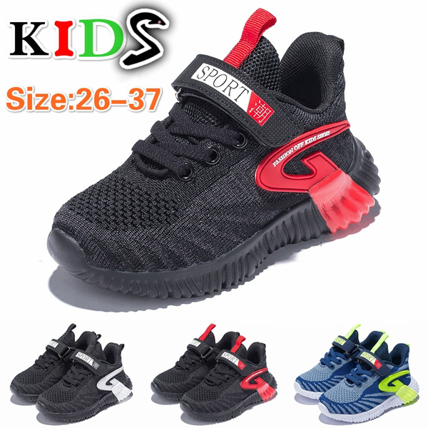Fashion Children Kids Boys Girls Lightweight Outdoor Sports Shoes Casual Shoes