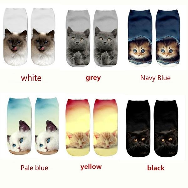 socksamptight, Fashion, unisex, catprinted