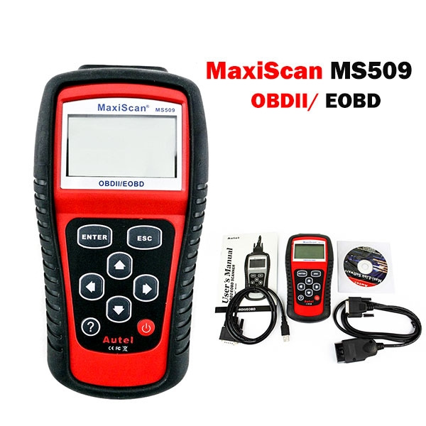 New MS509 OBDII 2 Car Vehicle Engine Fault Diagnostic Scanner Code Reader Tool