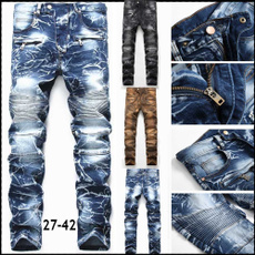 men jeans, Plus Size, skinny pants, pants