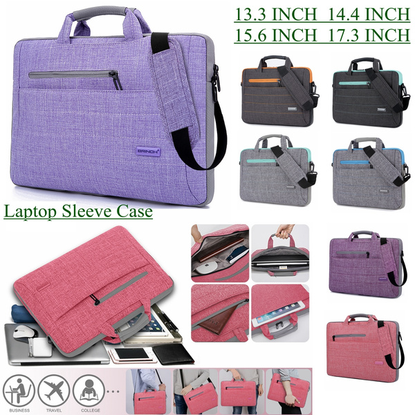 98e9a0e263c9 Brinch 17.3 Inch Multi-Functional Suit Fabric Portable Laptop Sleeve Case  Bag for Laptop, Tablet, MacBook, Notebook