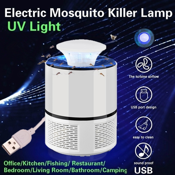 Electric Fly Bug Zapper Mosquito Insect Killer LED Light Trap Lamp Pest  Control BD