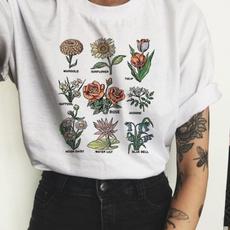 Plants, Fashion, Floral print, Shirt