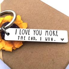Steel, Valentines Gifts, Girlfriend Gift, Key Chain